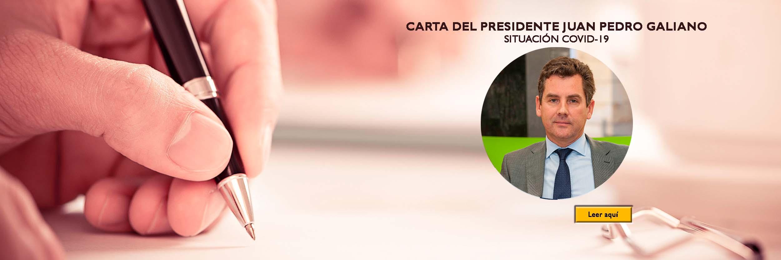 Carta Presidente Covid19